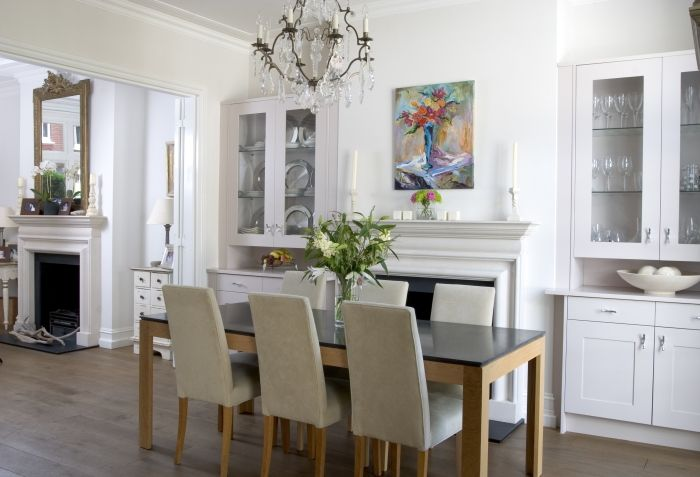 Bespoke Dining Room Cabinetsanthony Mullan Furniturewhite Prepossessing Cabinets In Dining Room 2018