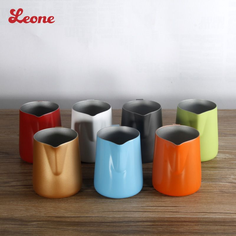 Thickening Teflon Stainless Steel Pull Flower Cup Coffee