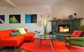 mid century modern living room - Google zoeken