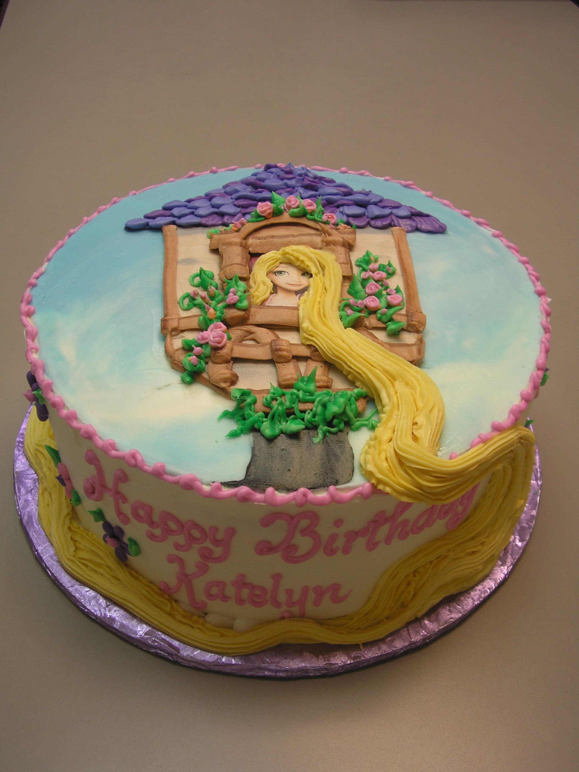 Rapunzel Cake Decorating Kit : Rapunzel cake Birthday Cakes and Party Ideas Pinterest ...