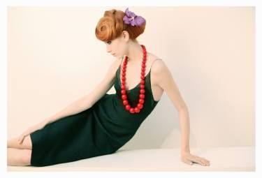 """Saatchi Art Artist Sophie Le Berre; Photography, """"La femme au collier rouge"""" #art"""