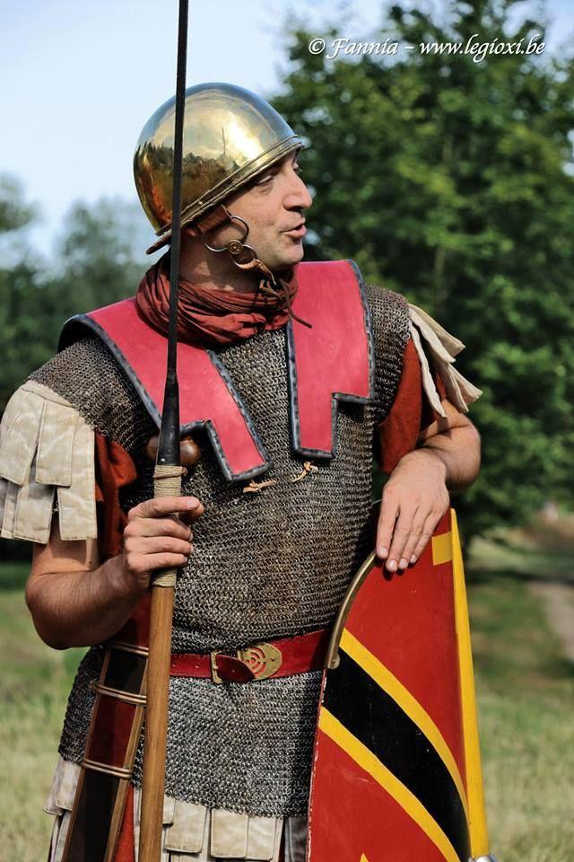 Legionary Of Julius Caesar Gallic Wars Amelianvs With