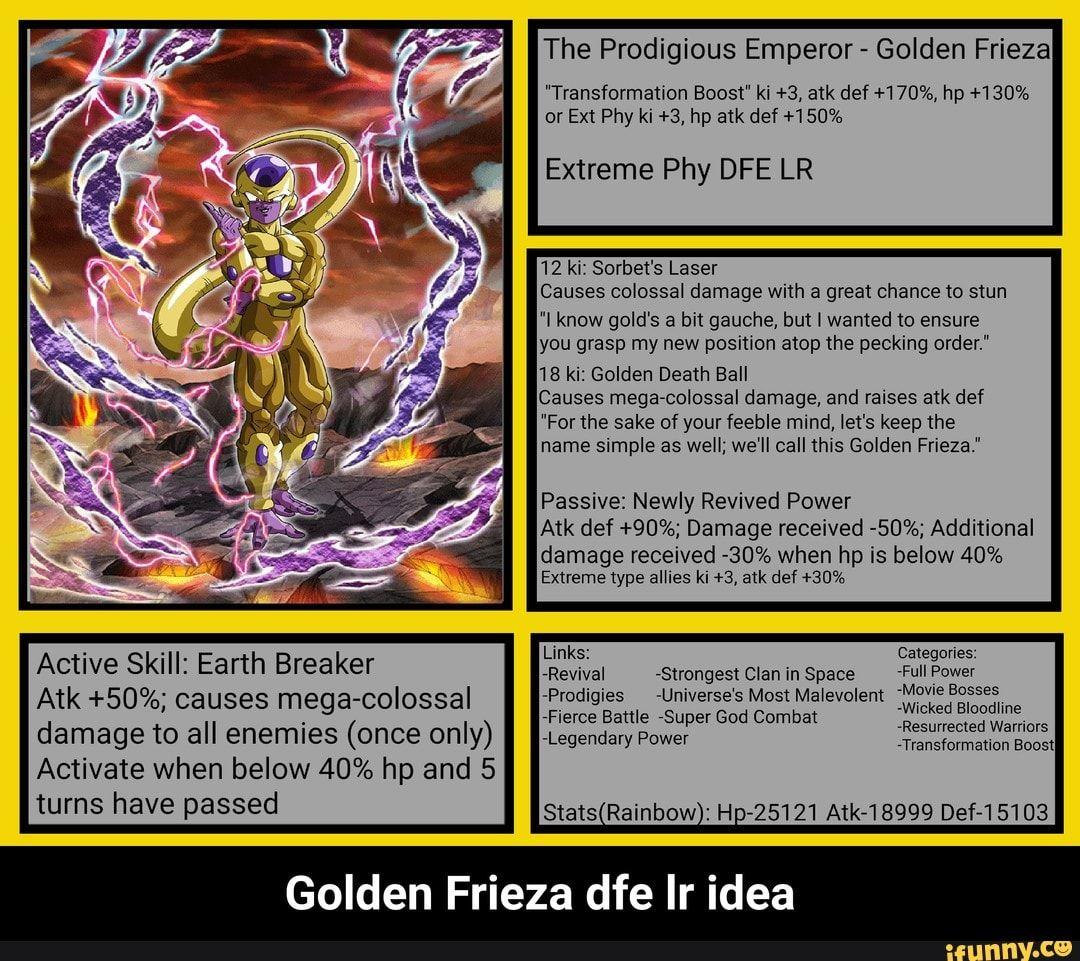 Golden Frieza Dfe Lr Idea Ifunny Memes Frieza Popular Memes