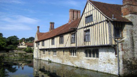 Ightham Mote - a beautiful 14th C Manor House in Kent, now owned and looked after by the National Trust