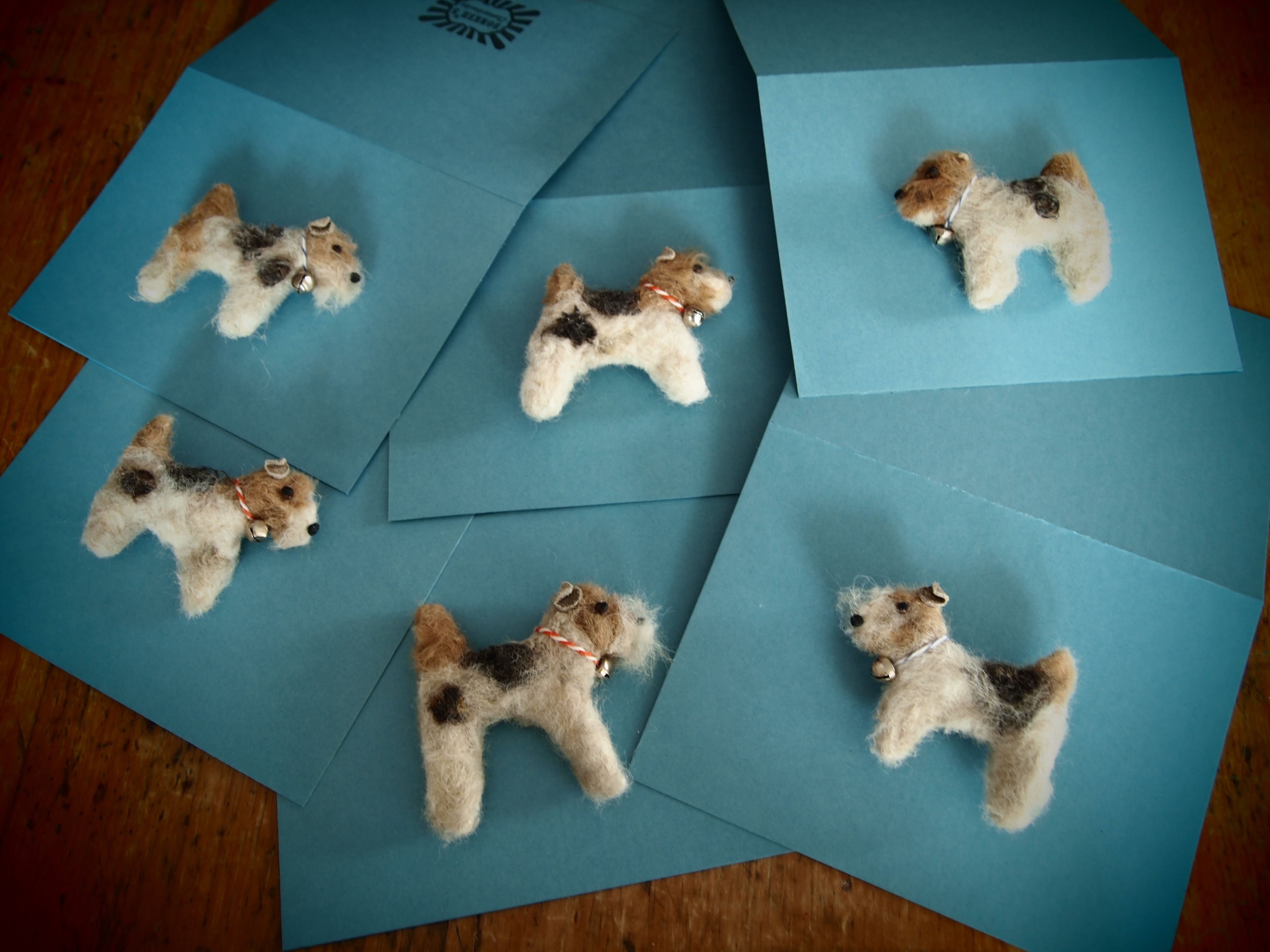 gevilte miniaturen van je huisdier gemaakt uit zijn/haar eigen haar