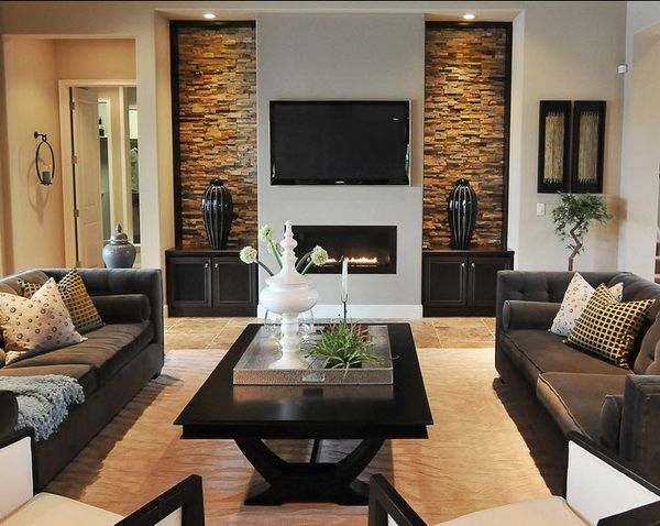 Contemporary Living Room Design Has Never Looked Better So Be Inspired With Fres Contemporary Living Room Design Contemporary Living Room Stone Walls Interior