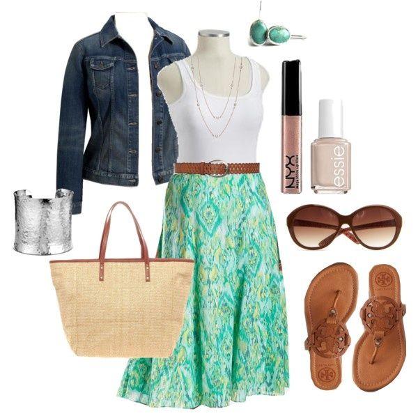 Summer Skirt - Plus Size #plus #size plus-size-fashion