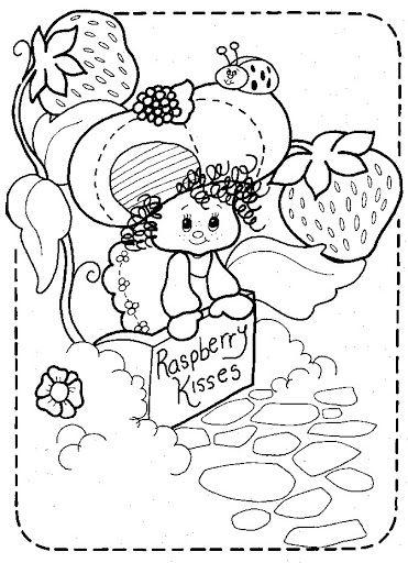 Coloring Book~Strawberry Shortcake - Bonnie Jones - Picasa Web ...