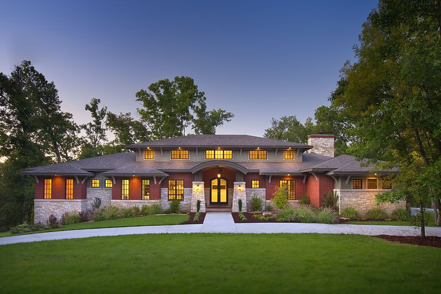 Frank Lloyd Wright Inspired Home Amazing Prairie Style Houses Craftsman Style House Plans Prairie Style