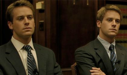Armie Hammer in the social network | Social network movie