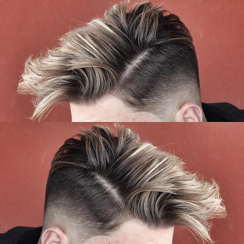 The skin fade haircuts for men gentlemen hairstyles fade in