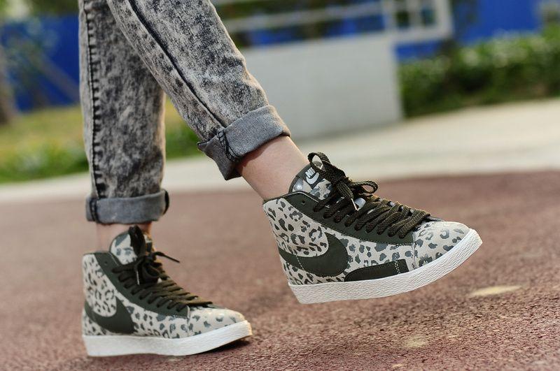 all Nike Blazer Mid Leopard Print only $60 love them