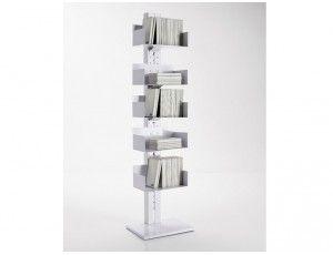 Totem libreria in metallo libreria a colonna in metallo