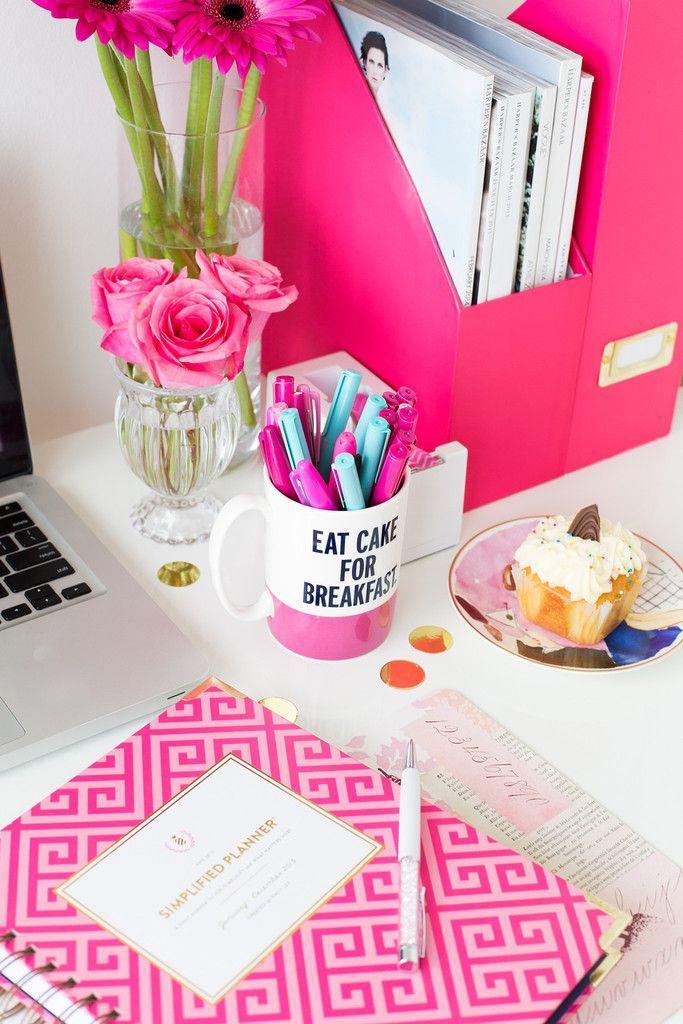 Decoraciones para tu escritorio que te quitar n la flojera - Decoracion para escritorio ...