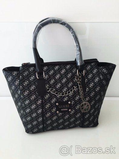 e2aafeb20 Luxusná čierna Guess kabelka - 1 | nakupy | Čierna