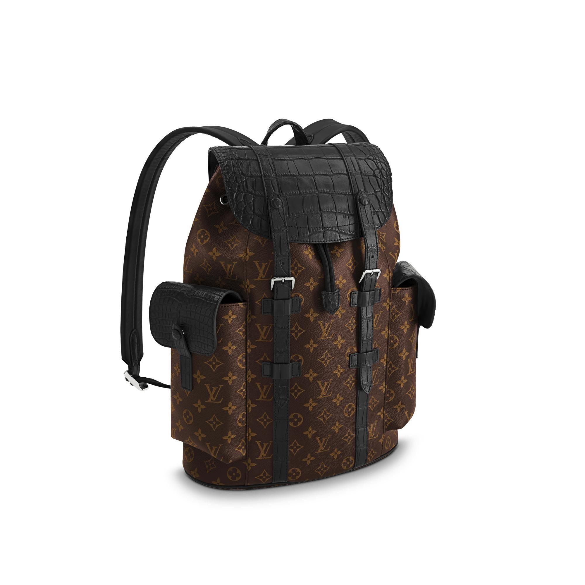 a49e093b43c LOUIS VUITTON Christopher Backpack PM.  louisvuitton  bags  canvas   backpacks