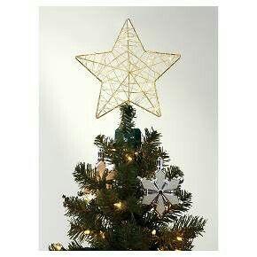 Target lit star dewdrop tree topper | Merry Christmas | Pinterest ...