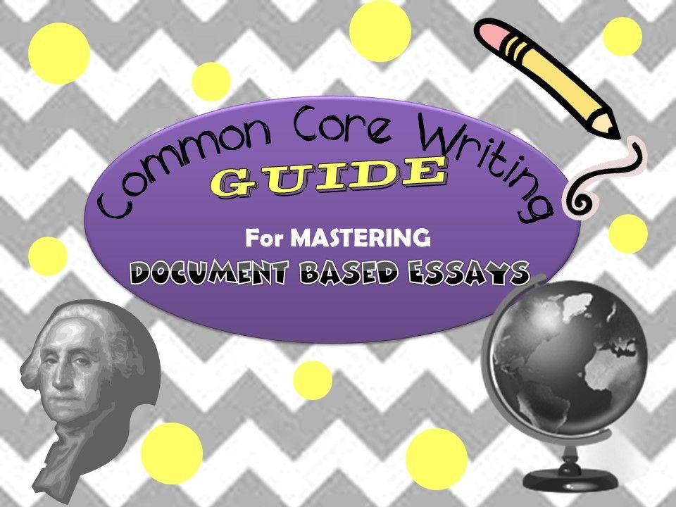Step by Step Guide to Writing DBQ Essays DBQ Writing