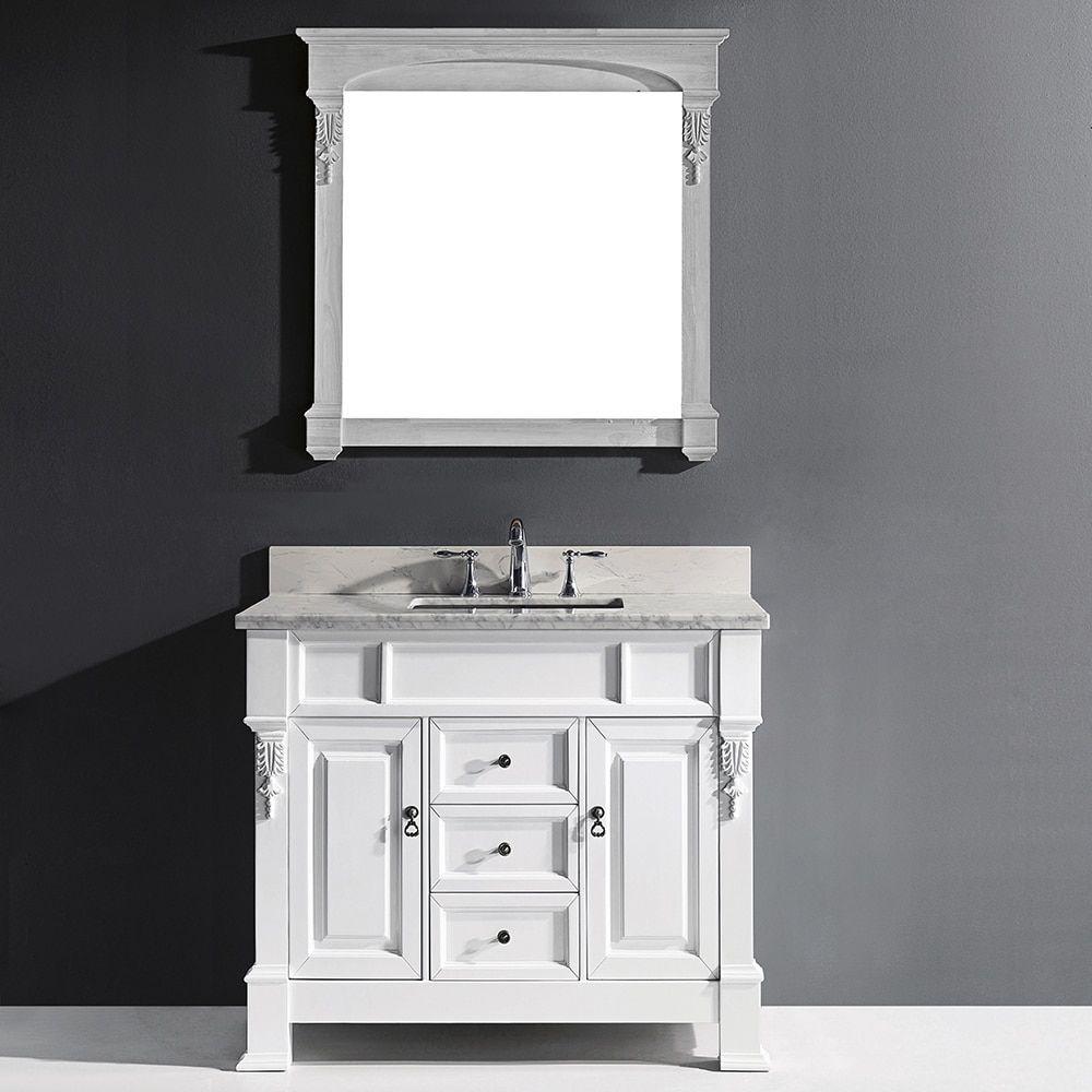 Photography Gallery Sites Virtu USA Huntshire inch Single Bathroom Vanity Cabinet Set