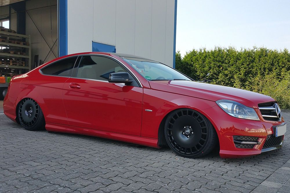 18 Bola B12 Staggered Brand New Alloy Wheels Mercedes C Class 13