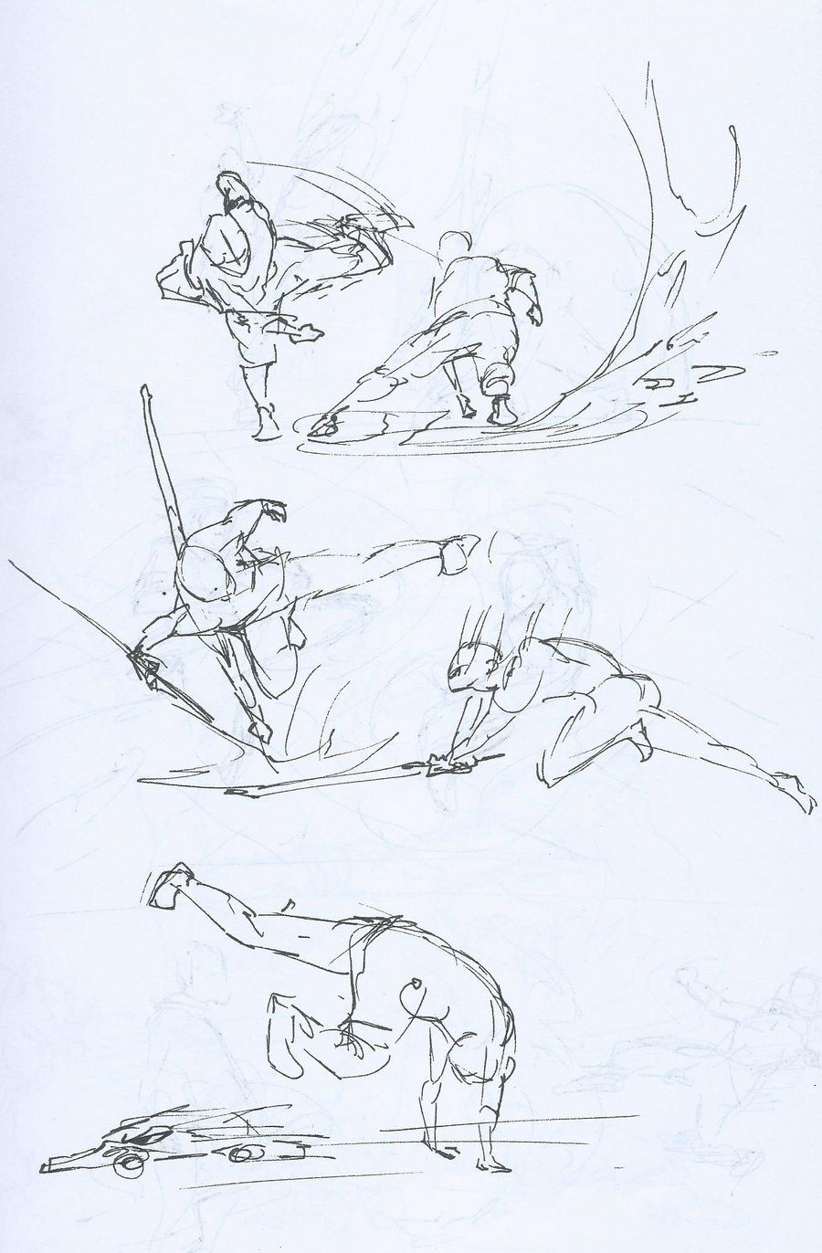 Drawing Fight Scenes By Enocaw On Deviantart Art Reference Poses Art Poses Fighting Drawing