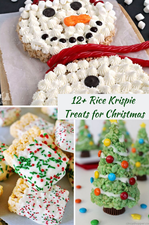 12 Rice Krispie Treats for the Holidays - Ottawa Mommy Club - #holidays #krispie #mommy #ottawa #treats - -