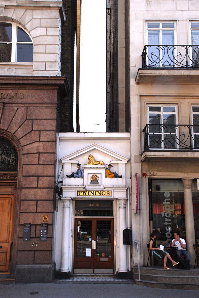 Twinings Tea Shop & Museum #teashops