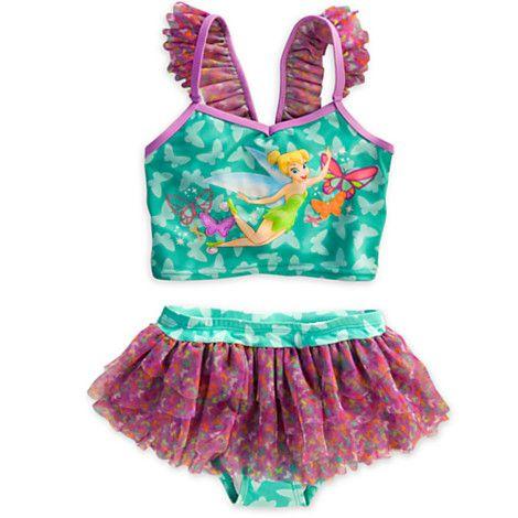 04d65b82cf9411 Tinker Bell Deluxe Swimsuit for Girls