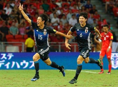 鹿島アントラーズに所属する日本代表FW金崎夢生が、12日に行われた2018 FIFAワールドカップ ロシア アジア2次予選のシンガポール戦で先制点を決めた。これを受けて所属元のポ...