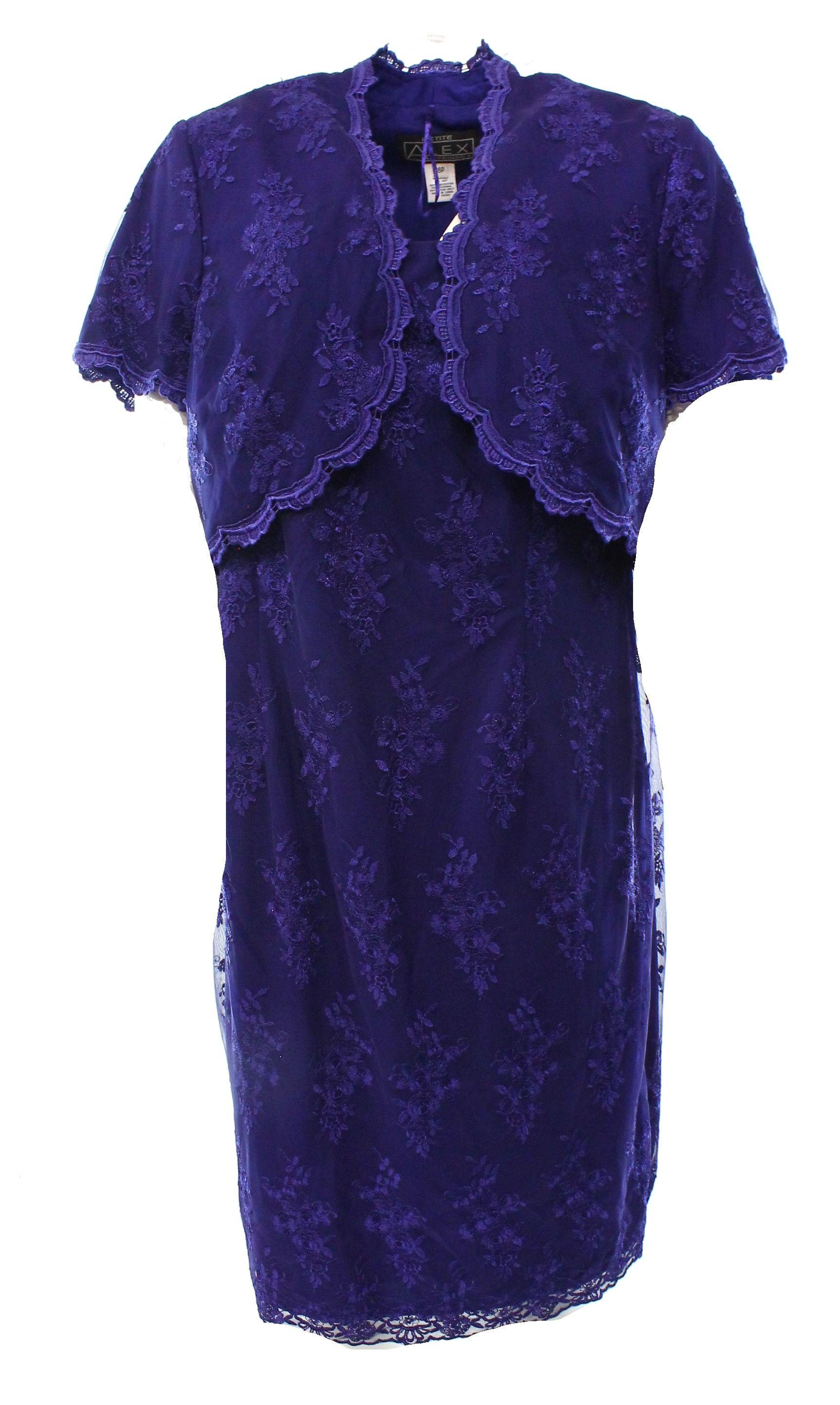 Evening dress shrug set