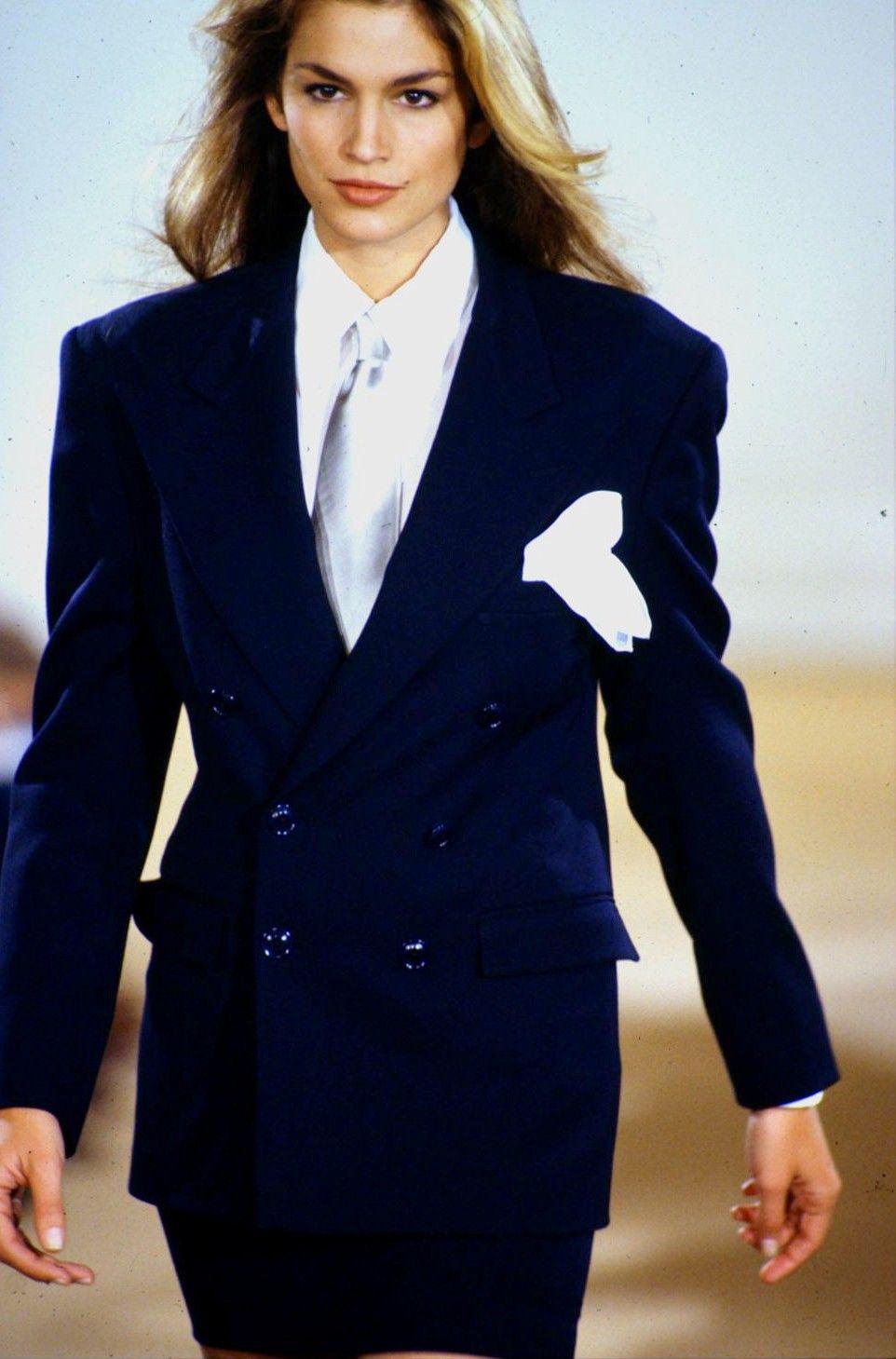 Cindy Crawford Ralph Lauren Ready To Wear Springsummer 1992