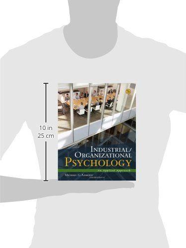 Industrial\/Organizational Psychology An Applied Approach #book - industrial organizational psychologist sample resume