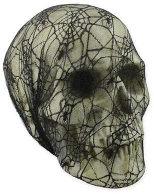 Allstate Halloween Web Skull in Black ,