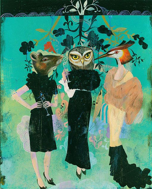 Olaf Hajek Illustration