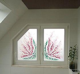 glasdesign mit sichtschutz f r badfenster fenster mit designglas fenster glas und design. Black Bedroom Furniture Sets. Home Design Ideas