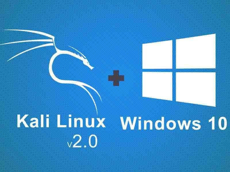 How To Dual Boot Kali Linux V2019 2 With Windows 10 Learning