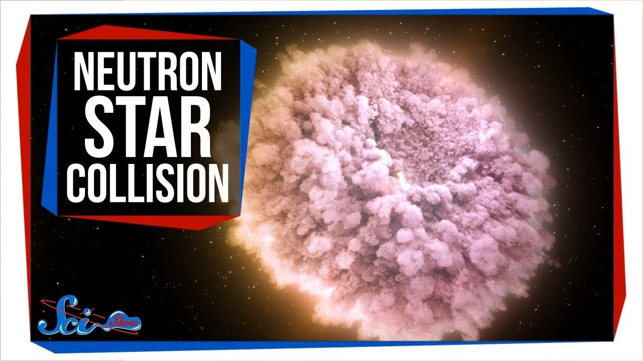 The First Neutron Star Collision We've Ever Seen - YouTube ...