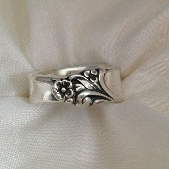 Spoon Ring Firelight 1959 Choose Your Size 6 to 12 Vintage