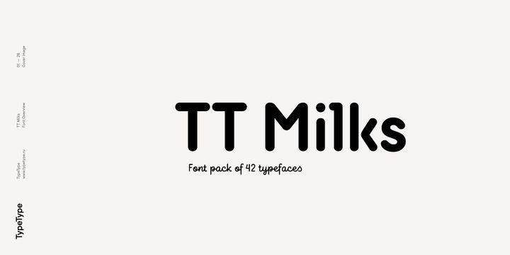 Download TT Milks - Webfont & Desktop font « MyFonts (With images ...