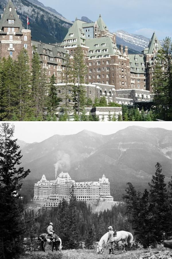 Fairmont Banff Springs Hotel in Banff, Alberta, Canada is home to many spirits. One of the most active ghosts here is Sam the Bellman, who retired in 1967 and said he'd be back. Since he passed away, many guests have reported  that he has helped them find their rooms and even taken their bags! Also, a ghostly bride has been seen by many employees & guests over the years; she perished falling to her death on a staircase during her wedding and has never left.