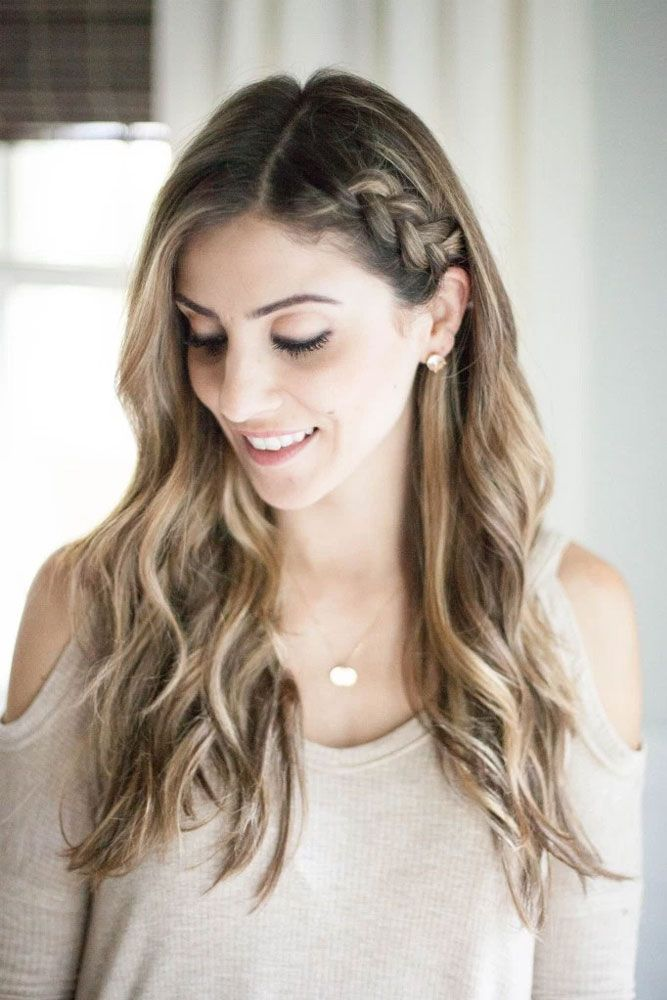 Hair How To Side Braids See More Http Glaminati Com Hair How To Side Braids Side Braid Hairstyles Side Braids For Long Hair Braids For Long Hair