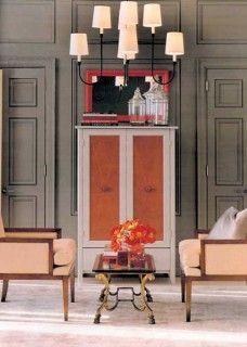 Armoire by Gothic Cabinet Craft Furniture Creative finish by @Martha Stewart Living