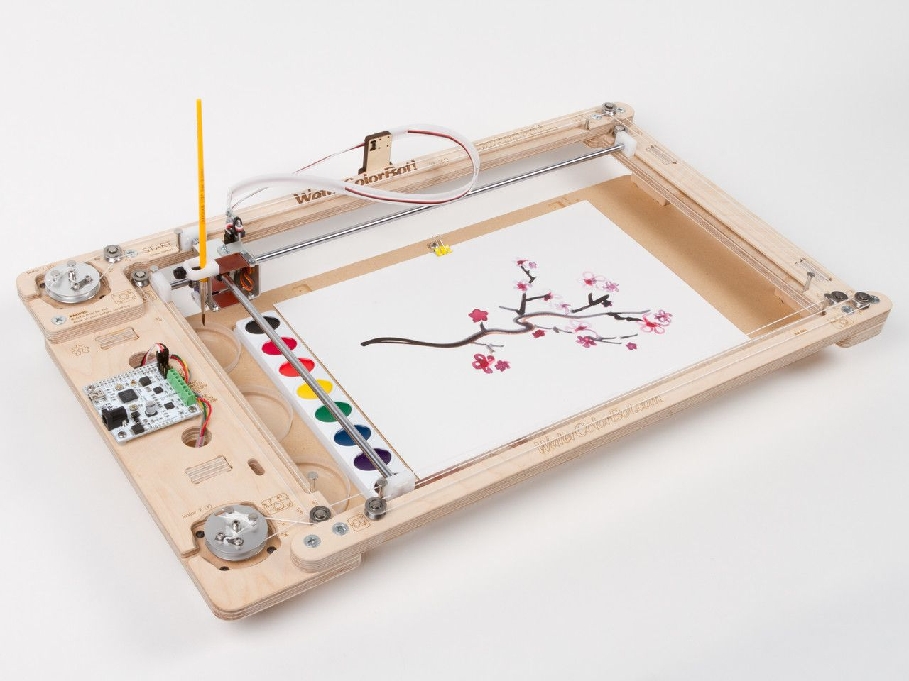 Watercolorbot Electronics Projects Diy Cnc Cnc Projects