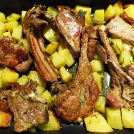 Photo of Baked Christmas Lamb, recipe by Francesca da Leverone