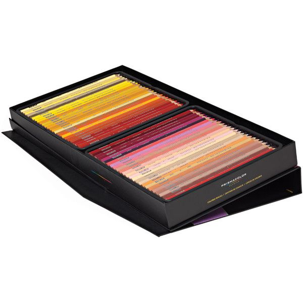 Prismacolor Colored Pencil Sets - JerrysArtarama.com ($140) ❤ liked on Polyvore featuring home, home decor, office accessories, white eraser, white colored pencils and colored pencils