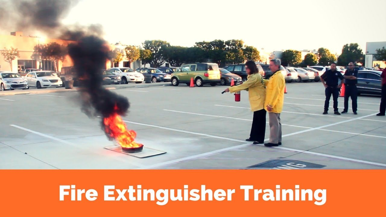 Fire Extinguisher Tips and How To Smother A Fire Fire