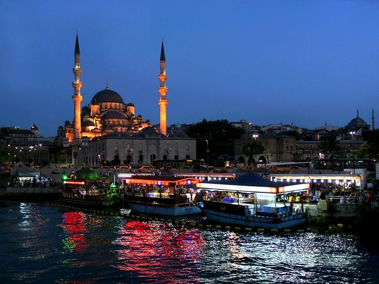 أجمل المناطق السياحية في تركيا Istanbul Night Taj Mahal