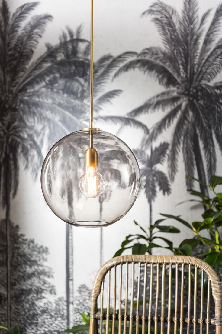 Green House Rookglas Lamp Smoke Glass Lamp Karwei 9