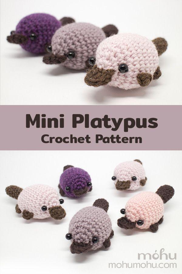 Amigurumi Platypus Crochet Pattern | móhu