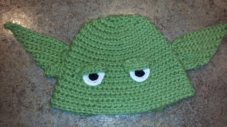 Yoda Crochet Hat By Craftsbynicolelee On Etsy 2000 Crochet